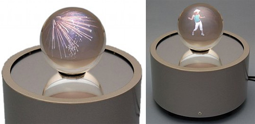 Holoart Crystal Display Ball (Images courtesy the Japan Trend Shop)