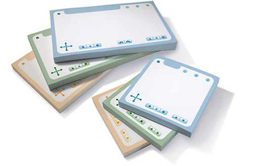Livescribe Sticky Notes (Image courtesy Livescribe)