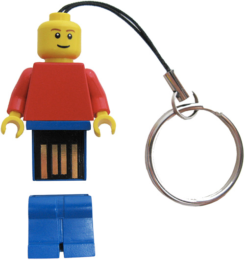 LEGO Minifigure 2GB USB Flash Drive (Image courtesy LEGO)
