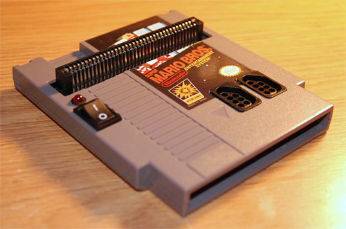 NES in a Cartridge (Image courtesy Instructables)
