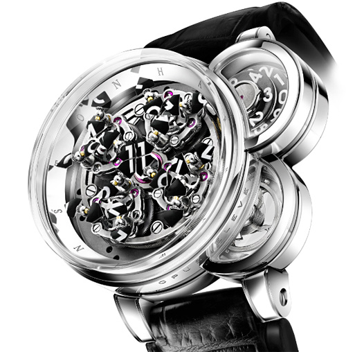 Harry Winston Opus Eleven Watch (Image courtesy Harry Winston)