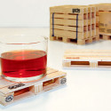 Industrial Looking Shipping Palette Coasters