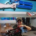 Hand-Cranked Gatling Gun Fires Off 100 Rubber Bands