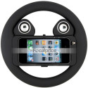 Even With Speakers This iPhone 4 Steering Wheel Probably Doesn't Provide The Most Realistic Racing Sim Experience