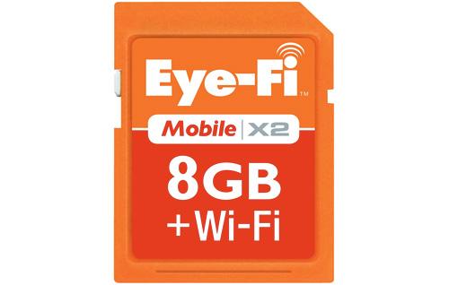 Eye-Fi Mobile X2 Card (Image courtesy Eye-Fi)