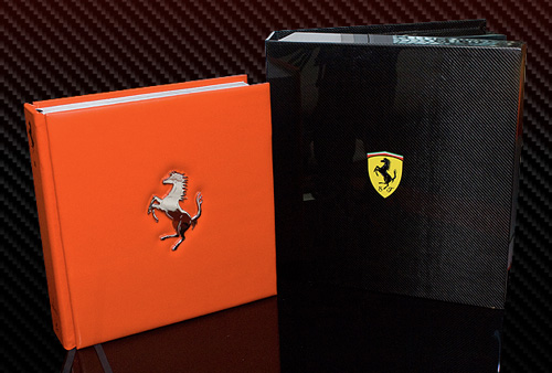 The Official Ferrari Opus (Image courtesy Kraken Opus Publishing)