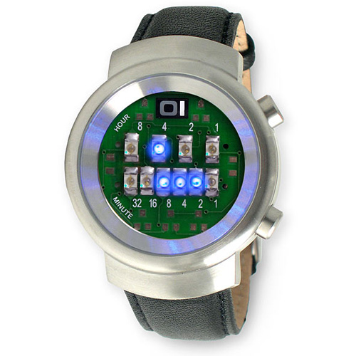 Binary watch without numbers