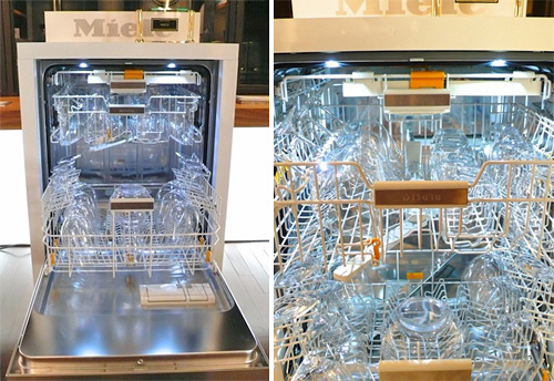 Miele Futura Diamond Dishwasher (Images courtesy Unplggd)