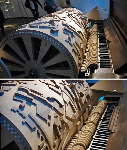Akko Goldenbeld's Stadsmuziek (Images courtesy designboom)