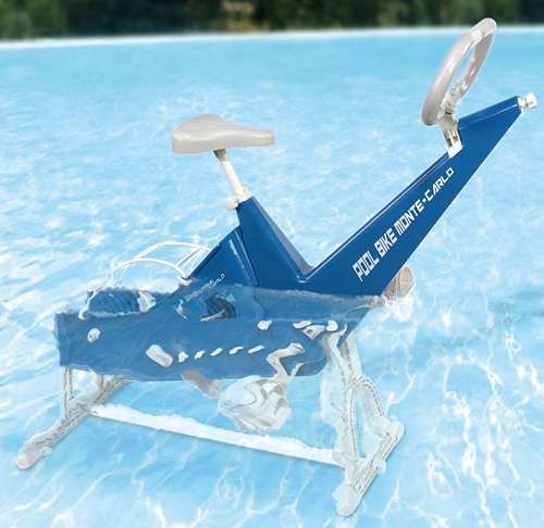Monte-Carlo Underwater Exercise Bike (Image courtesy Monte-Carlo)