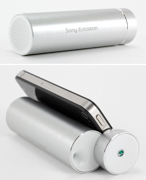 Sony Ericsson MS340 Speaker Stand (Images property OhGizmo!)