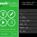 Microsoft Research's TouchStudio Lets Windows Phone 7 Users Program Directly On Their Phone