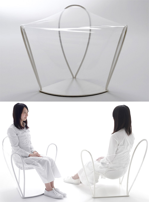 Transparent Chair (Images courtesy Nendo)