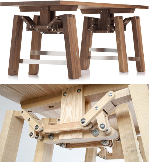 Walking Table (Images courtesy Wouter Scheublin)