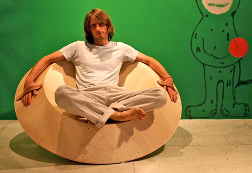 Accelerator Spinning Chair (Image courtesy Jaanus Osugaar)