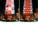 Coca-Cola Decides To Go The Subtle Route To Celebrate Their 125th Anniversary, Turns Their HQ Into A Giant Display
