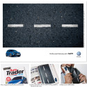 Volkswagen's 'Eat The Road' Campaign Literally Encourages People To Eat Their Edible Print Ads
