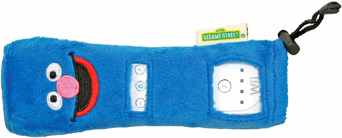 Sesame Street: Ready, Set, Grover! Wiimote Cover (Image courtesy Warner Bros. Interactive Entertainment)