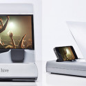 Hive iPhone Dock – Bigger Sound, Bigger Screen, No Wires