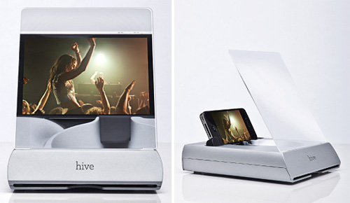 Hive iPhone Dock (Images courtesy ScreenDoor Studio)