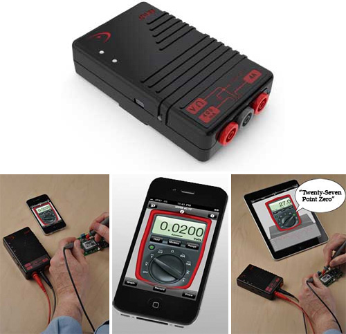 iDVM Wireless Multimeter (Images courtesy Redfish Instruments)