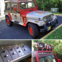 Jurassic Park Themed Jeep Wrangler