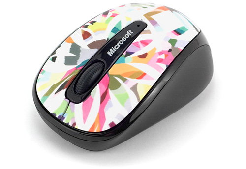 Microsoft Wireless Mobile Mouse 3500 Studio Series - Artist Edition (Image property OhGizmo!)