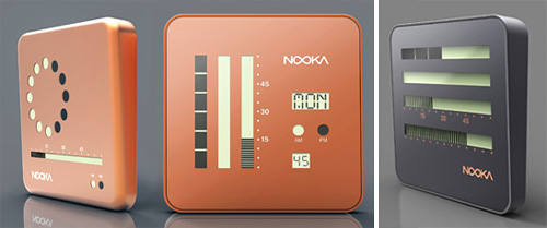 Nooka Wall Clocks (Images courtesy Nooka)