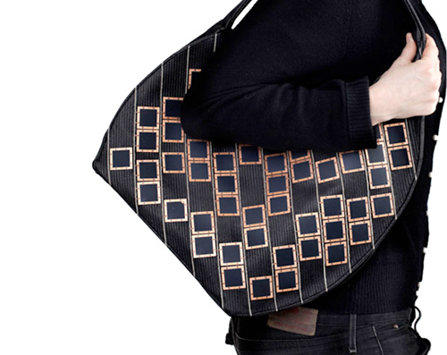 Diffus Solar Handbag (Image courtesy Diffus)