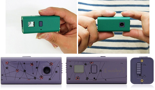 SQ30m Pocket Digital Camera (Images courtesy Pokedigi.com)