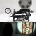 Impressive LEGO Technic Super-8 Movie Projector