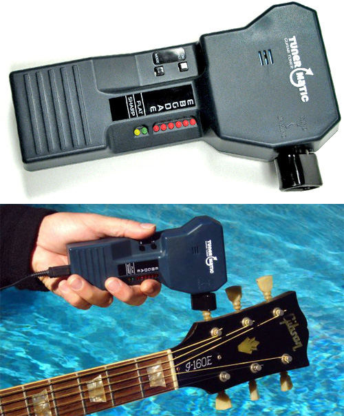 TunerMatic Automatic Guitar Tuner (Images courtesy TunerMatic)
