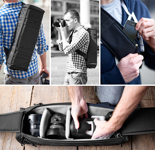 Urban Quiver Camera Bag (Images courtesy Blackstone Bags)