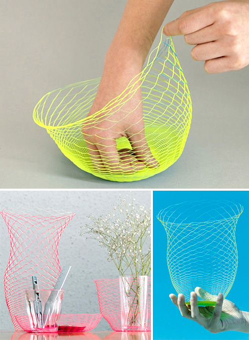 Paper Air Vase (Images courtesy Matomeno)