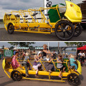Pedal Powered School Bus – Not So Magic Now Huh Kids?