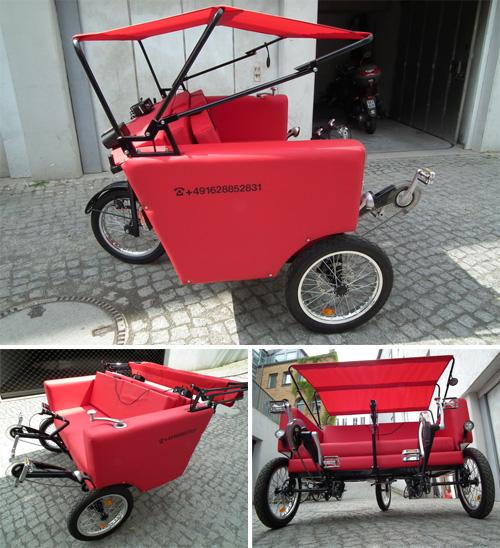 Sofa Bike (Images courtesy Jacek Holubowicz)