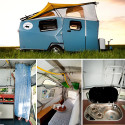 Stylish Cricket Camping Trailer Designed By A NASA Architect