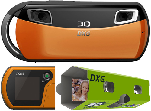 DXG-018O 3D Camera (Images courtesy DXG)