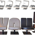 Typographic Seating Complete With Punctuation Mark Lighting