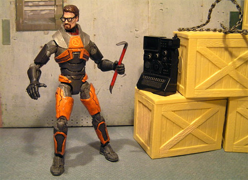 Gordon Freeman Action Figure (Image courtesy Taylor-made)