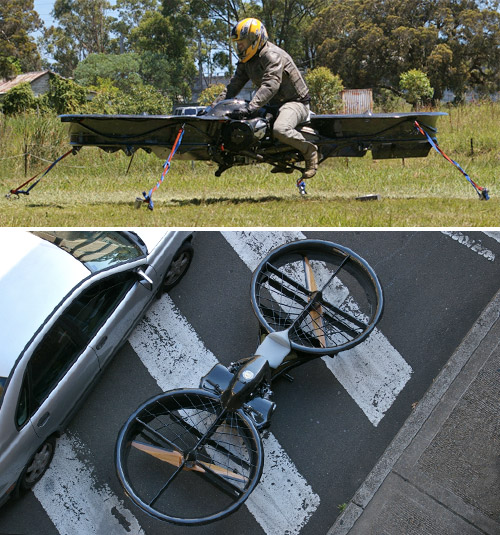 Hoverbike (Images courtesy Chris Malloy)