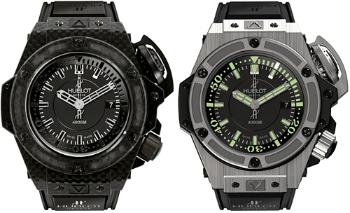 Hublot Oceanographic 4000 (Images courtesy Hublot)