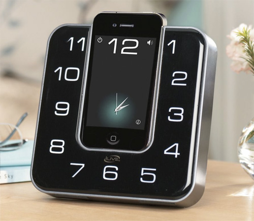 iLive Clock Radio Dock (Image courtesy Seventh Avenue)