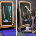 Through The Looking Glass Mirror Lets You Be A Part Of The Fairy Tale