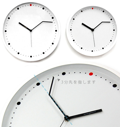 On-Time Wall Clock (Images courtesy Rakuten)