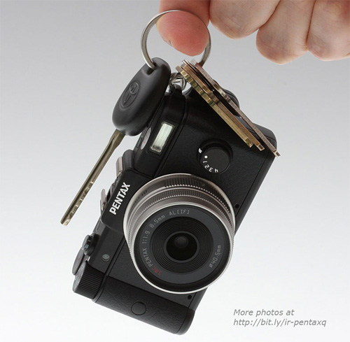 Pentax Q (Image courtesy Imaging Resource)