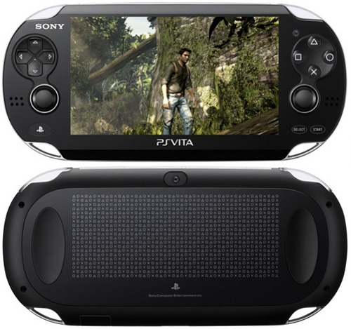 PlayStation Vita (Images courtesy Sony)