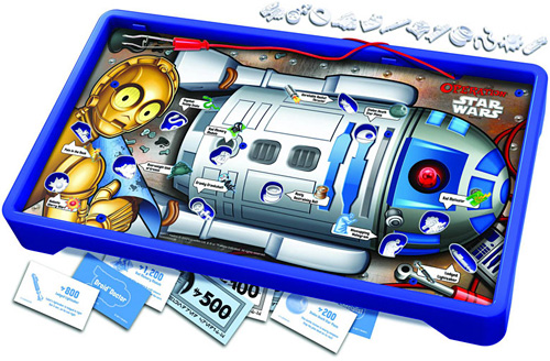 Star Wars Operation - R2-D2 Edition (Image courtesy Chip Chick)