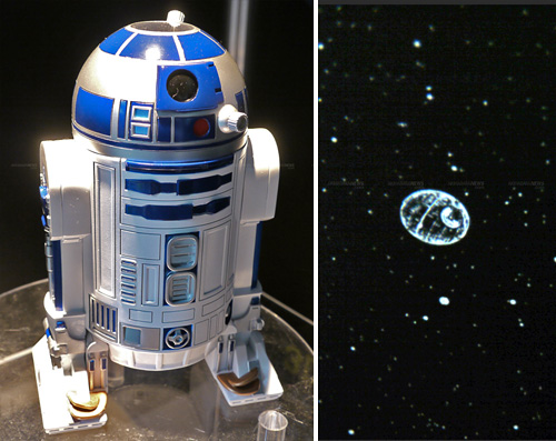 R2-D2 Planetarium (Images courtesy Akihabara News)