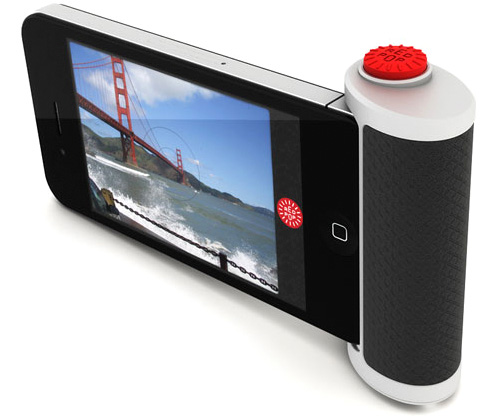 Red Pop iPhone Accessory (Image courtesy Kickstarter)